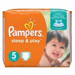 Pampers - Pack 58 Couches Sleep & Play taille 5 sur Les Couches