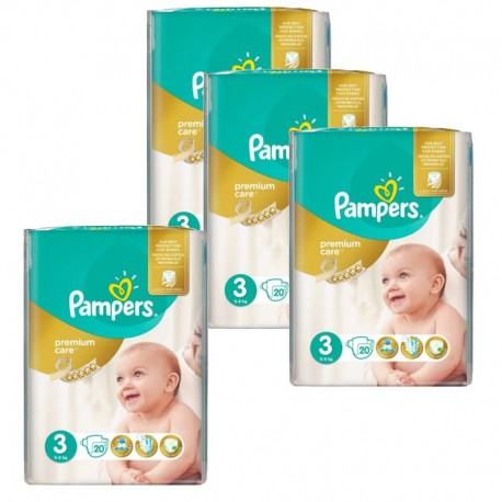 Pack 100 Couches Pampers Premium Care Prima sur Les Couches
