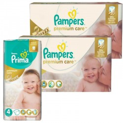 Pampers - Giga Pack 320 Couches Premium Care - Prima taille 4 sur Les Couches