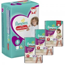 Pampers - Mega Pack 140 Couches Active Fit - Pants sur Les Couches