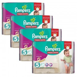 Pampers - Maxi Pack 160 Couches Active Fit Pants taille 5