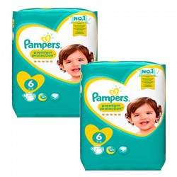 Pampers - Giga Pack 111 Couches New Baby Premium Protection taille 6