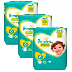 Pampers - Giga Pack 148 Couches New Baby Premium Protection taille 6