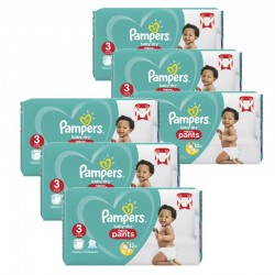 Pampers - Maxi giga pack 320 Couches Baby Dry Pants taille 3 sur Les Couches