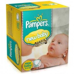Pampers - 288 Couches Baby Dry taille 2 sur Les Couches