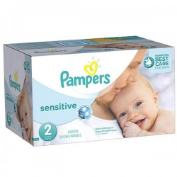 LesCouches Maxi Giga Pack 280 couches Pampers New Baby Sensitive