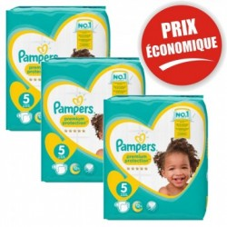 Pampers - Giga pack 270 Couches New Baby Premium Protection taille 5 sur Les Couches