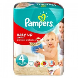 Pampers - 42 Couches Easy Up taille 4 sur Les Couches